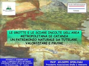 LOCANDINA PARCO VULCANOSPELEOLOGICO METROPOLITANO 17DICEMBRE2015