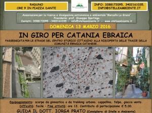 LOCANDINA CATANIA EBRAICA 13MARZO2016