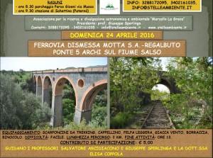 LOCANDINA PONTE 5 ARCHI FIUME SALSO 24APRILE2016