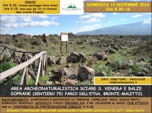 LOCANDINA SCIARE S.VENERA 13NOVEMBRE2016