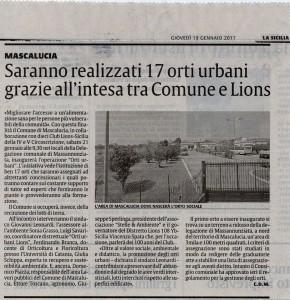 ORTI URBANI LA SICILIA 19GENNAIO2017